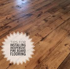 Pledge For Laminate Floors Inexpensive Wood Flooring Using Pine Boards All You Need To Know