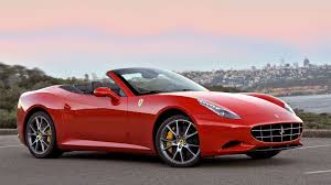 Ferrari California Custom - car picker red ferrari california