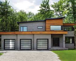 Garages With Living Quarters Above Contemporary Garage W Apartments Modern House Plans Home Design