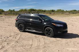 toyota highlander 2017 black do highlanders 2017 limited platinum come with tinted windows