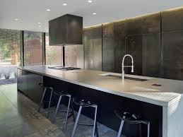kitchen kitchen counter height island dark hardwood floors with