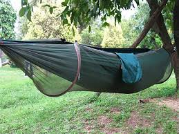 integrated mosquito repellent hammock outdoor camping military