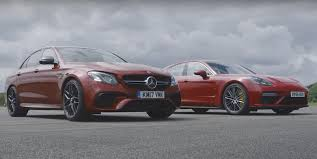 mercedes hp is the 603 hp mercedes amg e63 quicker than the 550 hp porsche