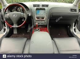 lexus sedan usa jun 21 2006 los angeles ca usa inteior dashboard 2007 lexus