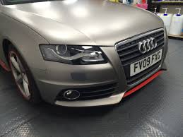 audi a4 headlights 3m ventureshield headlight protection audi a4 waxyclean car
