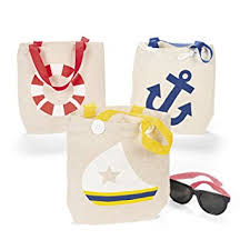 nautical bags canvas nautical tote bags 1 dz kitchen dining