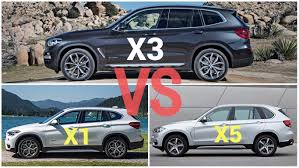 2018 bmw x1 vs x3 comparison