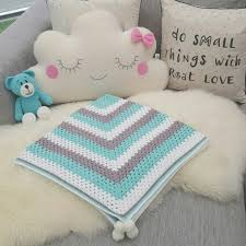 Free Cushion Crochet Patterns Crocheted Baby Blanket Pattern Http Daisycottagedesigns Net