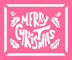 christmas window stencils design google search jolly tidings