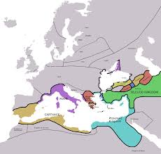 The Map Of Europe by Map Of Europe In 220 Bc Illustration Ancient History Encyclopedia