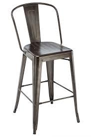 Bar Stools Restaurant | oversized industrial viktor steel restaurant rust bar stool