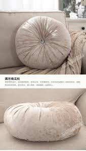 round pumpkin decorative pillow european style luxury sofa bed