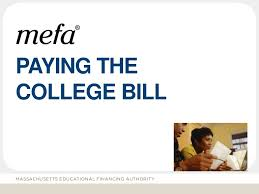 paying the college bill blog