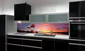 glasbilder küche spritzschutz für die küche seeblick iii 90x65cm spritzschutz für