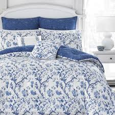 Laura Ashley Office Furniture by Laura Ashley Elise Navy 7 Piece Comforter Set Free Shipping