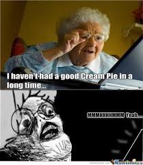 Internet Grandma Meme - surprised grandma by chris parsan meme center