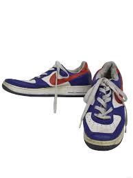 Flat Tennis Shoes Nike Air Force 1 Nineties Vintage Shoes 90s Nike Air Force 1