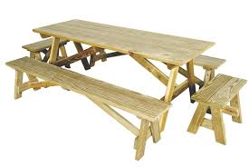 Wooden Tables And Benches Outdoor Wooden Tables King Tables