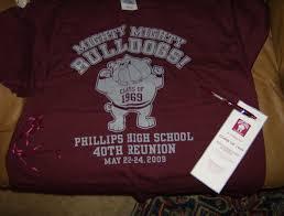 high school reunion souvenirs phillips high school battleboro nc annual school reunion 2012