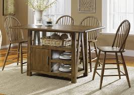 kitchen island with 4 chairs buy liberty furniture farmhouse 60x35 traditional kitchen island w