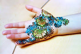 henna tattoo hand flowers color designs henna tattoo gallery