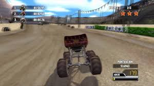 video de monster truck rayo mcqueen monster truck 2 de 4 race o rama cars español juego