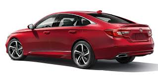 2018 honda accord revealed 10th gen sedan brings turbo power and