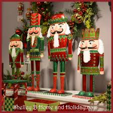 nutcracker decorations christmas at shelley b home and holiday