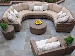 Patio Furniture 48 Fearsome Round Patio Sofa Image Concept