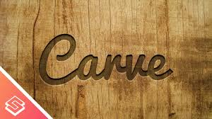 carved wood plank inkscape tutorial carved wood effect