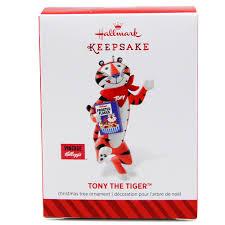 tony the tiger hallmark keepsake ornament kelloggstore
