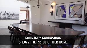 Kourtney Kardashian New Home Decor by See Inside Kourtney Kardashian U0027s Stunning Mansion That She