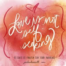 Seeking Not 31 Days Of Marriage Guest Series Is Not Self Seeking