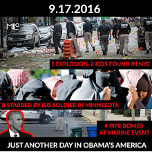 Memes Nyc - 9172016 milo 1 explosion 2 ieds found in nyc 8 stabbed by isis