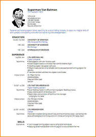 resume templates pdf free 6 resume formats pdf skills based resume