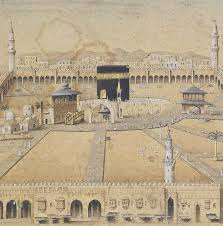 Ottoman Period A Panoramic View Of Mecca In Ottoman Period Islam Pinterest