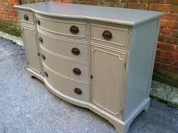 painted cottage grey dresser server buffet sideboard free