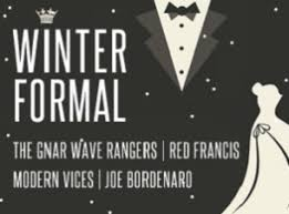 tickets for winter formal featuring the gnar wave rangers