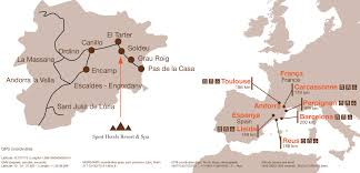 Carcassonne France Map by How To Arrive Sport Hotels Andorra