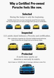porsche 911 certified pre owned why buy certified pre owned