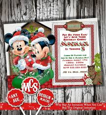 selection minnie mickey mouse invitation my