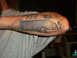 100 vw bus tattoo kombi tattoo von elios faktory vw bus