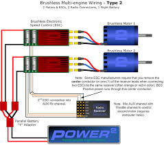 multi engine esc wiring 2bfly