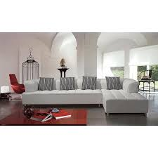 White Sectional Sofa With Chaise Stylish White Leather Sectional Sofa With Chaise U2013 Interiorvues