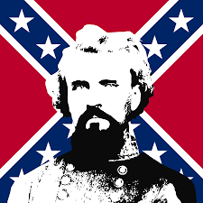 nathan bedford forrest and the rebel flag digital art by war is