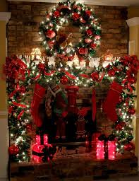 decorate your fireplace for christmas 20 ideas to inspire