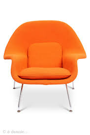 1948 eero saarinen womb chair edited by knoll at 1stdibs