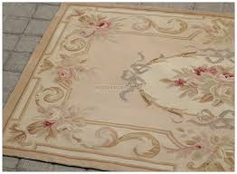3 X 5 Area Rug by Top Seller Aubusson Area Rug Antique French Pastel Wool Free Ship