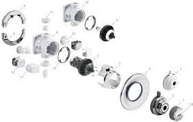 aqualisa aquavalve 600 thermostatic u0026 430 manual shower spares
