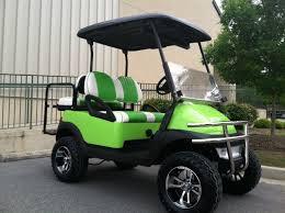 custom golf carts lime green beach cruiser club car precedent